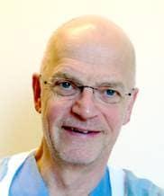 Hans Johansson, överläkare och specilist i geriatrik,