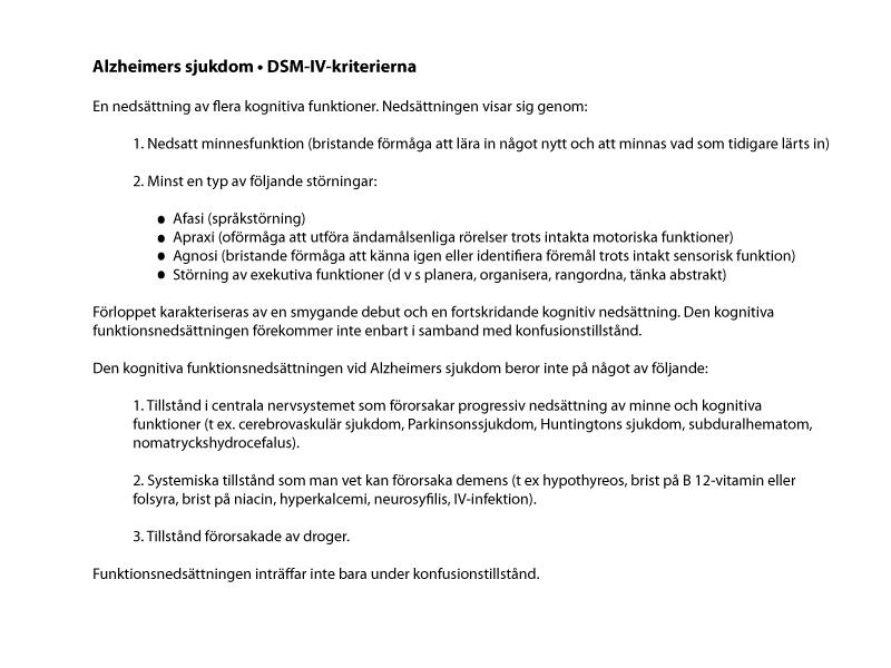 DSM-IV-kriterierna